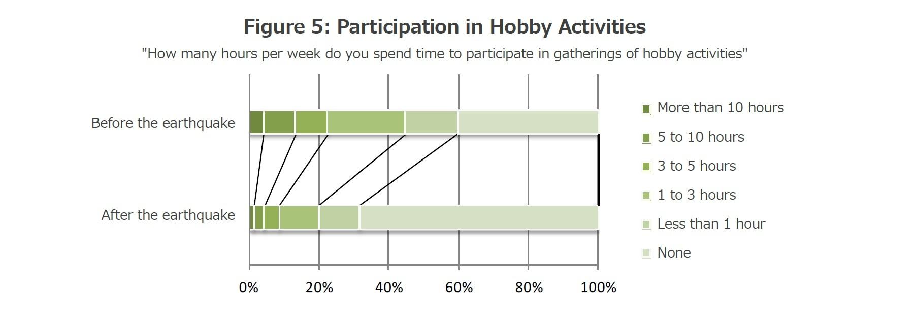 Figure 5: Participation in Hobby Activities