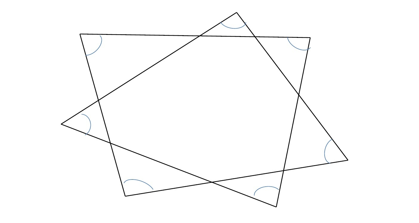 星型の多角形