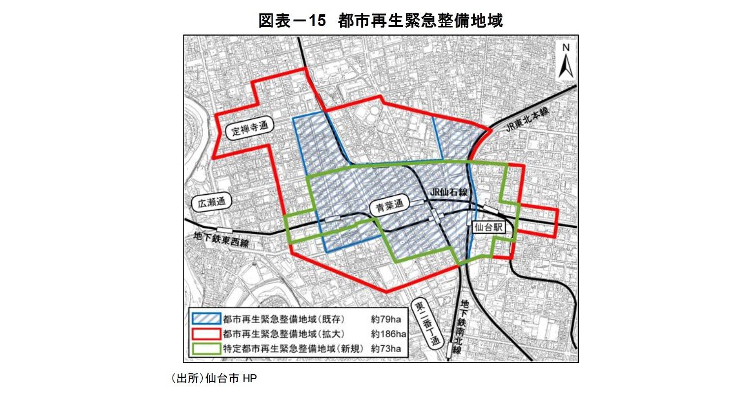 図表-15 都市再生緊急整備地域