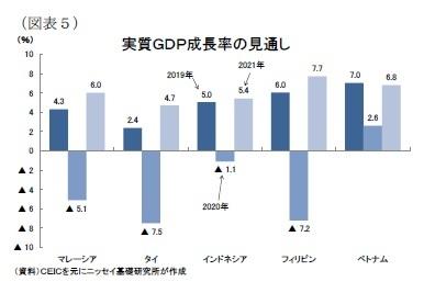 (図表5)実質GDP成長率の見通し