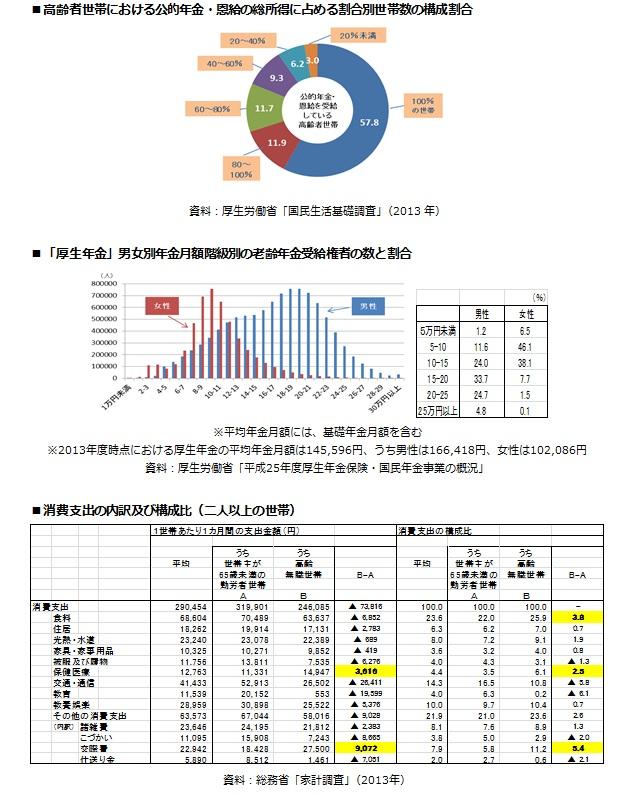 (参考)高齢者の経済状況に関する諸データ2